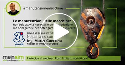 webinar manutenzione macchine