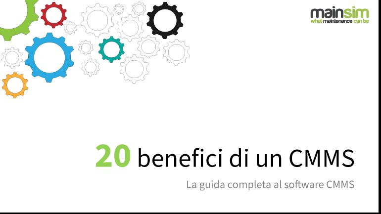 e-book 20 benefici di un cmms