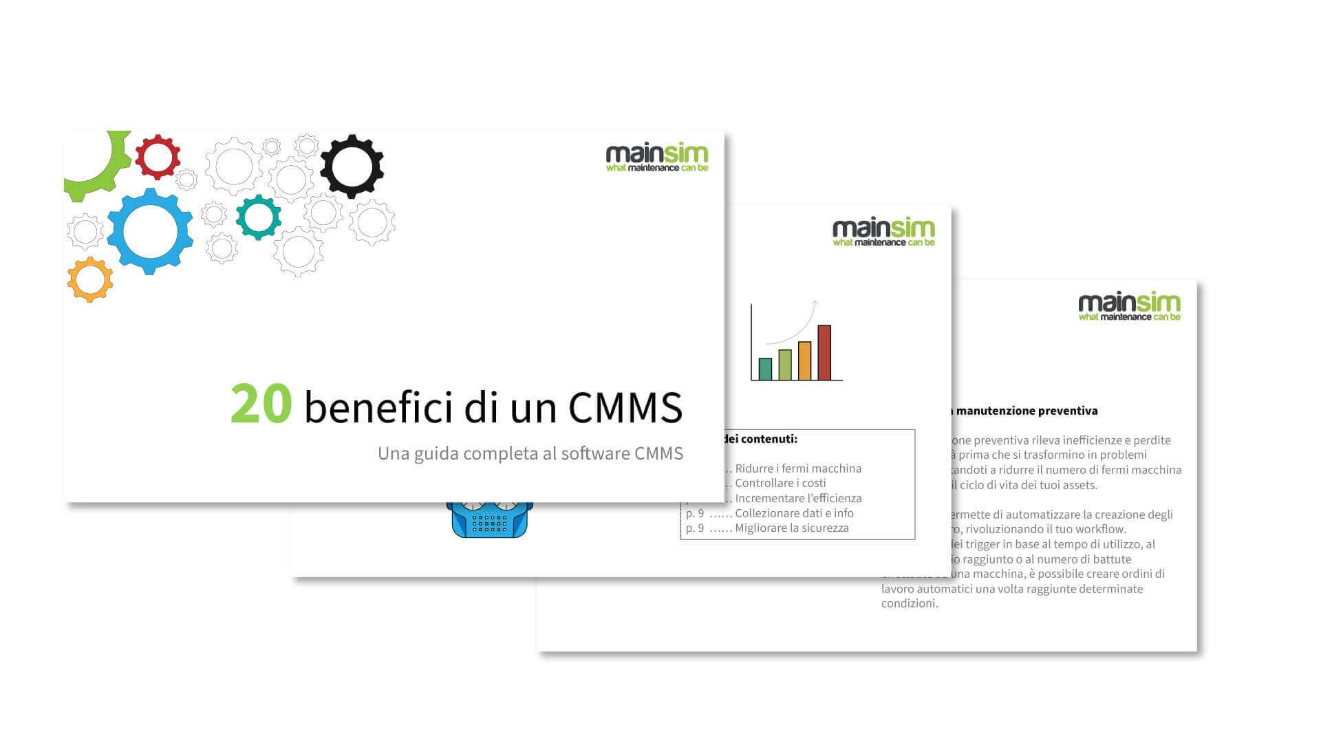 benefici di un cmms